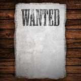 Wanted sign Stock Images