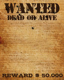 Wanted Sign Stock Image