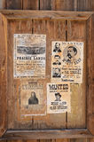 Wanted Wyatt Berry Stapp Earp Royalty Free Stock Image