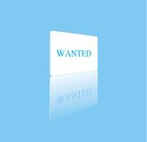 wanted01 royaltyfri bild