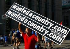 Wantedacountry.com Banner Royalty-vrije Stock Afbeeldingen