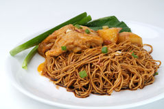 Wanton Noodles Royalty Free Stock Images