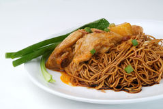 Wanton Noodles Royalty Free Stock Photography
