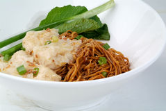 Wanton Noodles Stock Photography