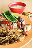 Wanton noodles dish - Series 2 Stock Image