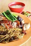 Wanton noodles dish - Series 2 Stock Image