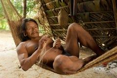 Waorani Indigenous Life Style Royalty Free Stock Photos