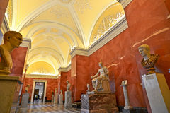 Wapenkundige Zaal van het Paleis van de Winter, St Petersburg Royalty-vrije Stock Foto