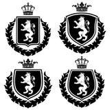 Wapenschild Royalty-vrije Stock Fotografie