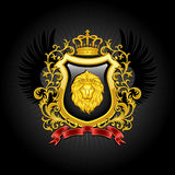 Wapenschild Royalty-vrije Stock Afbeeldingen