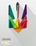 Wapenschild van de Oekraïne Royalty-vrije Stock Foto