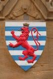 Wapenschild van Luxemburg Royalty-vrije Stock Foto's