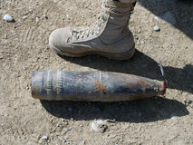 Wapensgeheim voorgeheugen in de Helmand-Provincie Afghanistan wordt gevonden dat Royalty-vrije Stock Foto