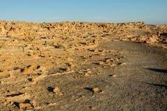 Wapień tubk krajobraz w przylądku Bridgewater, Australia Zdjęcie Stock