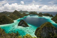 Wapień wyspy Fotografia Royalty Free