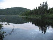 Wapizagonke jeziora odbicie Zdjęcia Royalty Free
