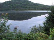 Wapizagonke jeziora odbicie Fotografia Stock