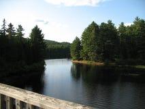 Wapizagonke jezioro Zdjęcie Stock