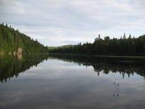 Wapizagonke jezioro Zdjęcia Stock