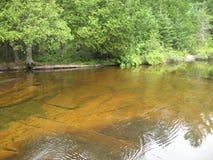 Wapizagonke jezioro Obrazy Stock