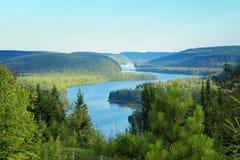 Wapizagonke lake Royalty Free Stock Image