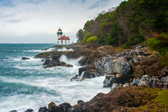Wapna Kiln latarnia morska Obraz Stock