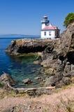 Wapna Kiln latarnia morska, usa Obraz Royalty Free