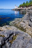 Wapna Kiln latarnia morska, usa Zdjęcia Royalty Free