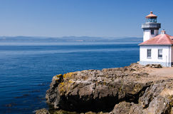 Wapna Kiln latarnia morska, usa Zdjęcia Stock