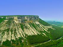 Wapnia plateau. Zdjęcie Royalty Free