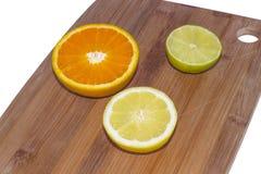 Wapno, cytryna i pomarańcze, Zdjęcia Royalty Free