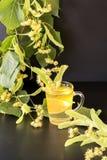 Wapno herbata Fotografia Royalty Free