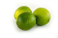 Wapno owoc na bielu obrazy stock