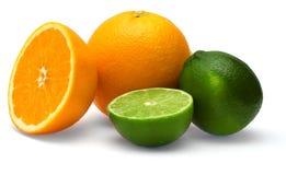 wapno pomarańcze Zdjęcia Stock