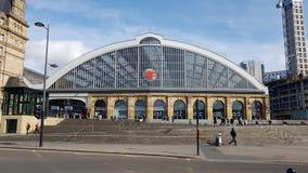 Wapno ulicy stacja Liverpool obrazy royalty free