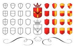 Wappen 01 Lizenzfreies Stockfoto