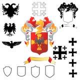 Wappen 02 Stockfotos