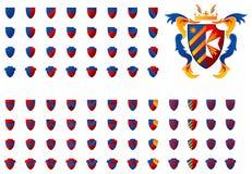 Wappen 06 Stockbild