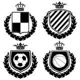 Wappen. Stockbild