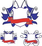 Wappen. Lizenzfreie Abbildung