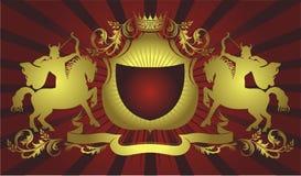 Wappen Abbildung Stockfoto