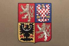 Wappen der Tschechischen Republik Lizenzfreies Stockfoto