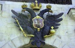Wappen des russischen Reiches Stockbild