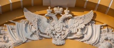 Wappen des russischen Reiches, Stockfotografie
