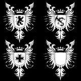 Wappen gotische 03 Stockfotos