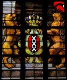 Wappen von Amsterdam Lizenzfreie Stockfotos
