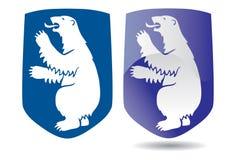 Wappen von Grönland Lizenzfreies Stockbild