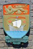Wappen von New-Brunswick lizenzfreies stockfoto