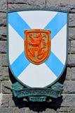Wappen von Nova Scotia Stockbilder