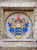 Wappen von Tallinn Lizenzfreies Stockfoto